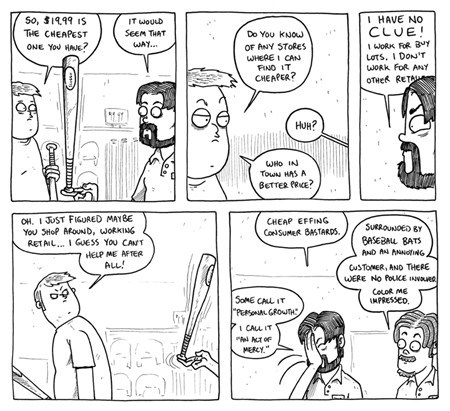baseball bats retail work sucks funny - 7847455744