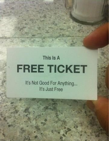 free ticket tickets free - 7847495936