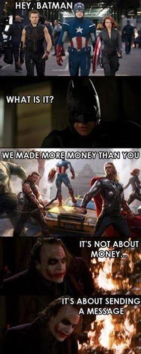 dark knight movies money avengers - 7847500544