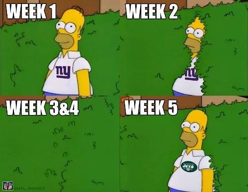nfl,new york giants,football,the simpsons