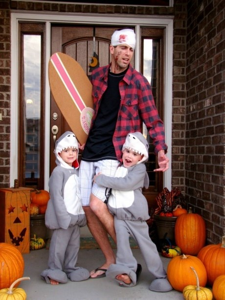costume,halloween,parenting,sharks