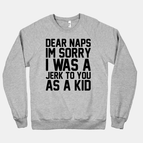 sweatshirts kids parenting naps g rated - 7847550720