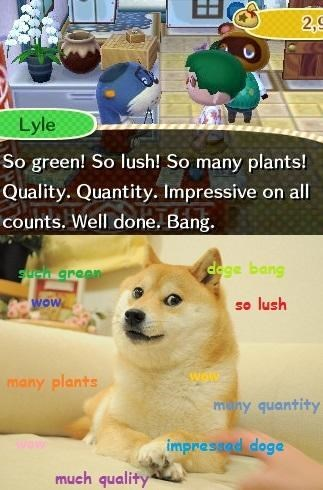 doge Memes shibe animal crossing - 7847585792