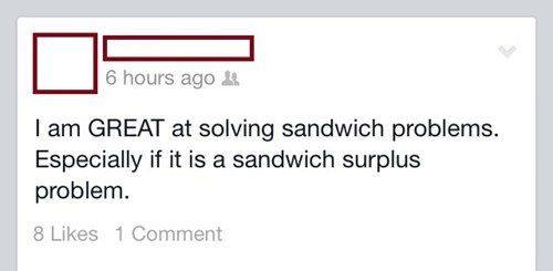 sandwiches,eating,sandwich surplus