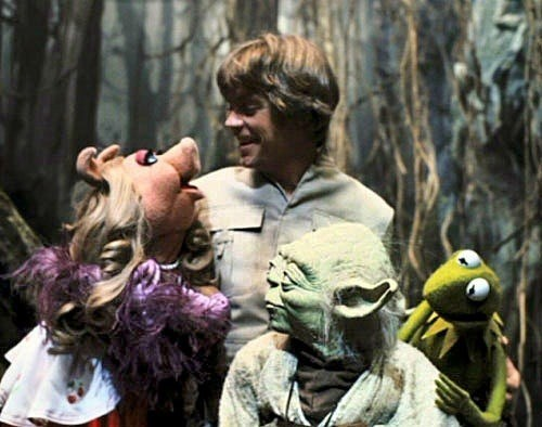 muppets,star wars,yoda