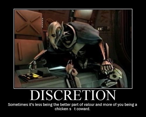 star wars,valor,discretion,funny,coward