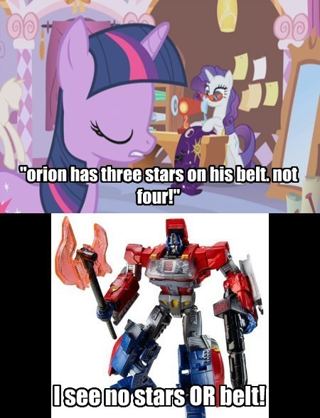 transformers twilight sparkle orions-belt Orion - 7847722240