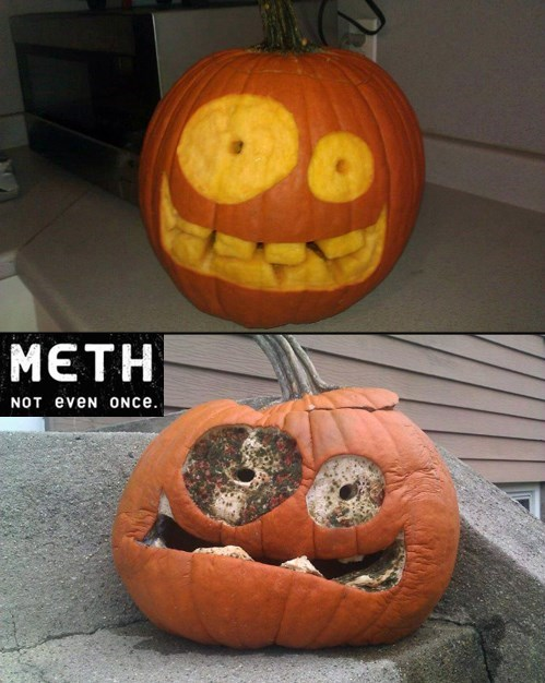 hallowmeme meth jack o lanterns - 7847737088