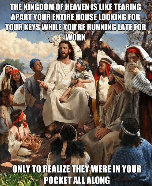 jesus religion parable - 7847786240