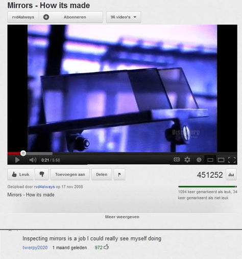 mirrors youtube comments get out - 7847789824
