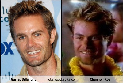 garret dillahunt,channon roe,totally looks like,funny