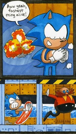 gotta go fast sonic - 7847838208