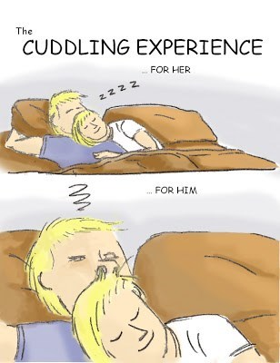 hair cuddling funny web comics
