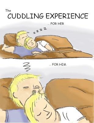 hair cuddling funny web comics - 7847848960