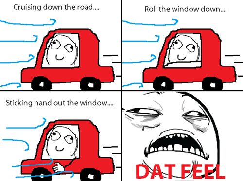 wind driving dat feel breeze - 7847861504