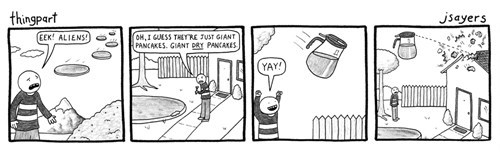 syrup,pancakes,funny,space,web comics