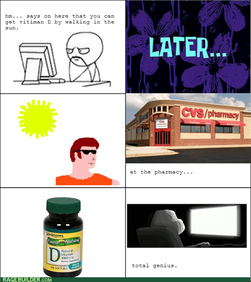 vitamin d,forever alone,sunlight,computer guy