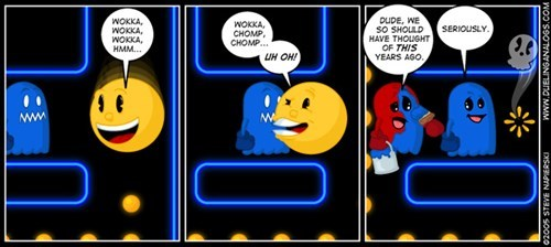 Videogames pac man funny - 7847973376
