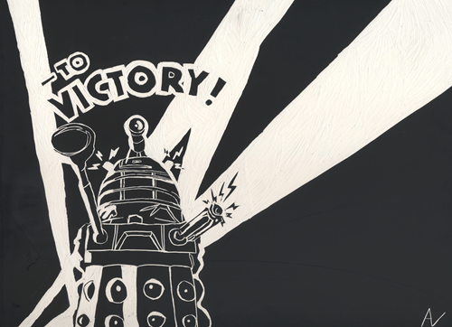 Fan Art daleks doctor who - 7848131328