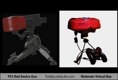 guns virtual boy Team Fortress 2 totally looks like funny nintendo - 7848242688