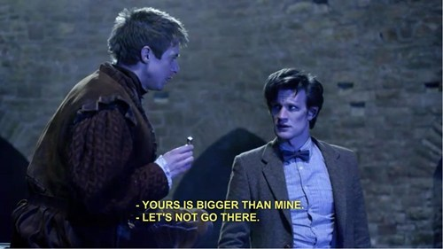 11th Doctor doctor who that sounds naughty - 7848636416