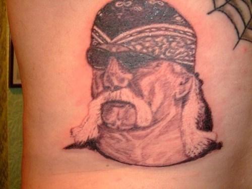 Hulk Hogan americana tattoos funny