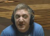 Martyn (InTheLittleWood) making a wierd face