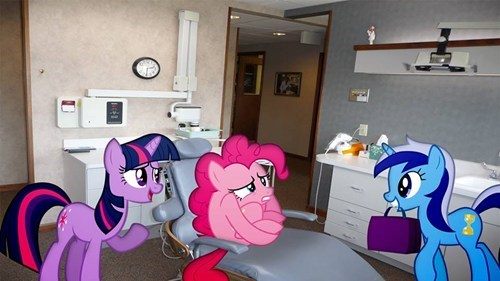 dentist twilight sparkle pinkie pie - 7849281536
