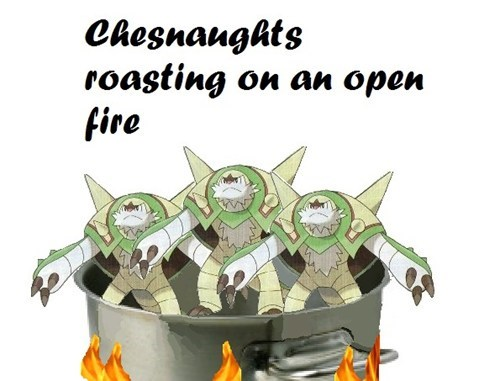 chesnaught christmas - 7849517824