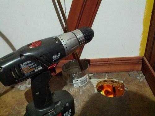 holes photobomb home renovation - 7849559808