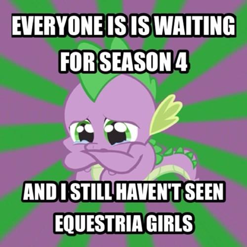sad spike equestria girls mlp season 4 - 7849620736