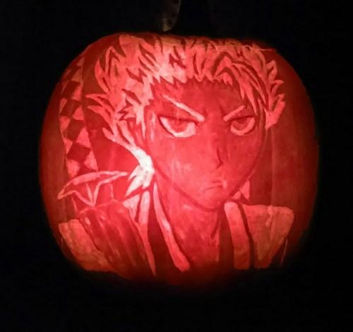halloween anime jack o lanterns bleack - 7849648640