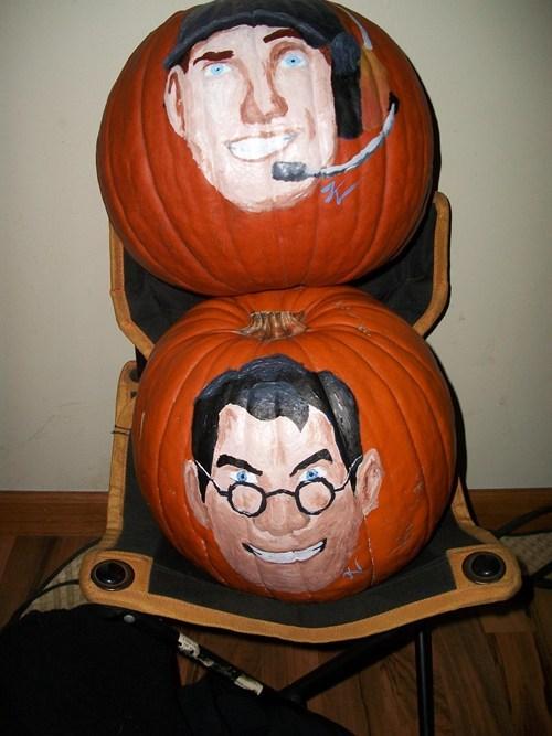 jacj o lanterns pumpkins ghoulish geeks g rated video games TF2 - 7849648896