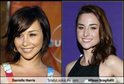 allison scagliotti,danielle harris,totally looks like,funny