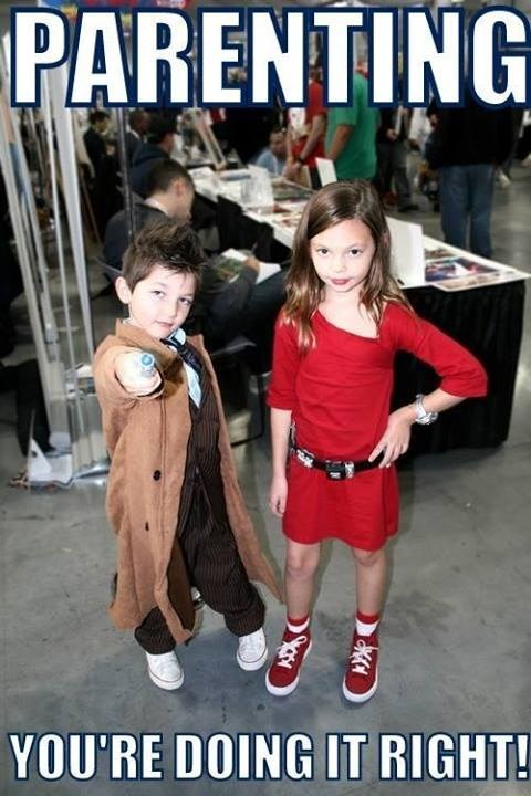 cosplay kids cute doctor who - 7850188288