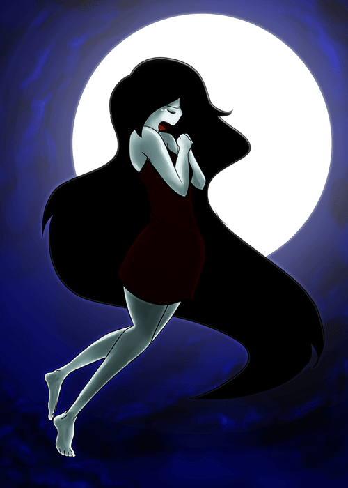 Fan Art cartoons marceline the vampire queen adventure time - 7850385920