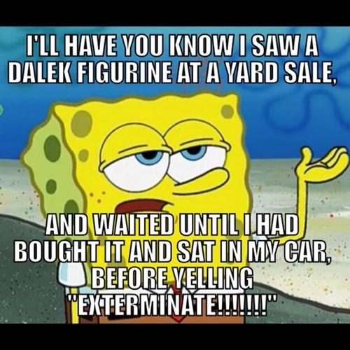 daleks doctor who SpongeBob SquarePants - 7850790144