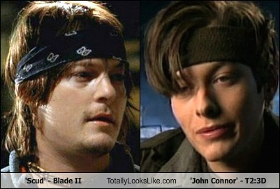 'Scud' - Blade II Totally Looks Like 'John Connor' - T2:3D