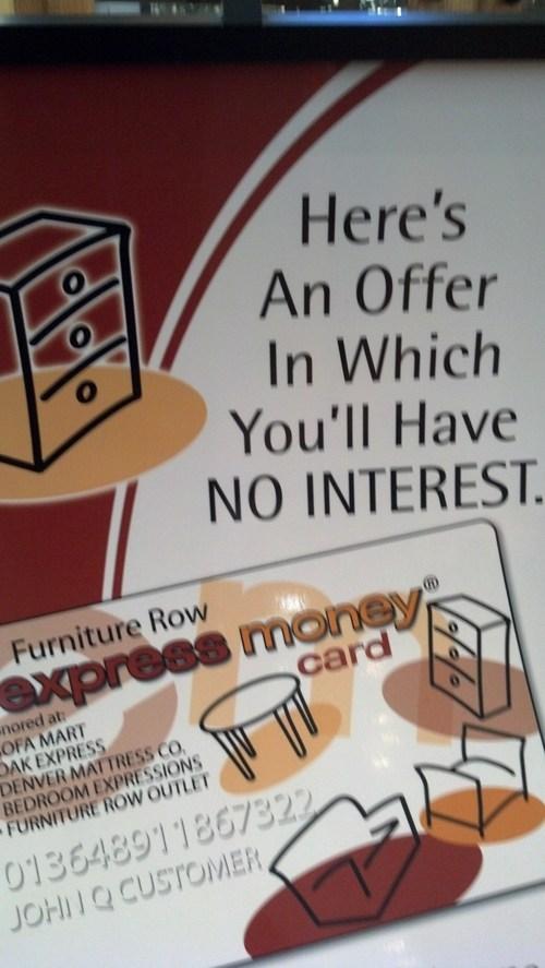 FAIL interest puns sign - 7850938880