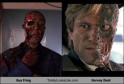 harvey dent,gus fring,totally looks like,funny