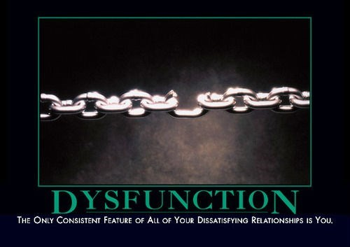 dysfunction,weak link,funny
