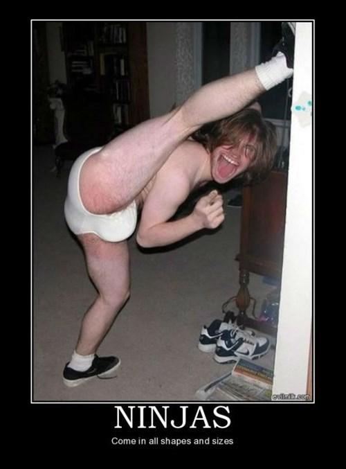ninja wtf funny underwear dude - 7851322368