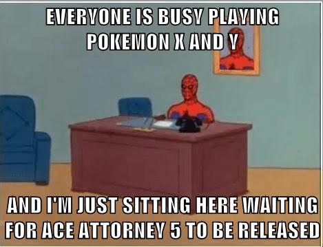 Pokémon Spider-Man Pheonix Wright Memes - 7851330048