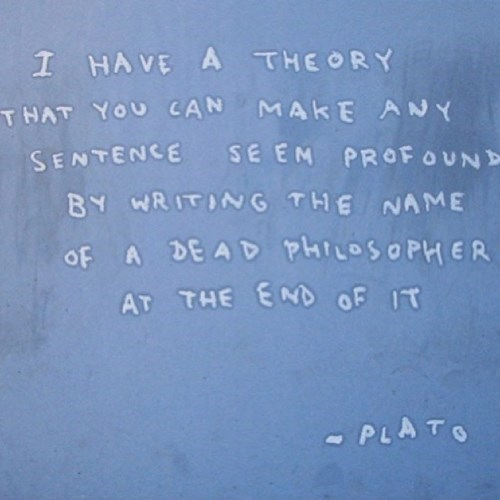 quotes banksy plato Aristotle - 7852415744