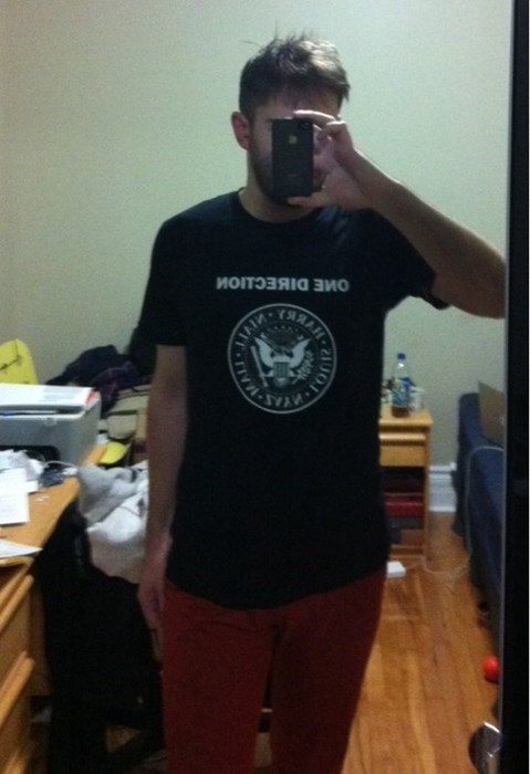 punk one direction Music fashion shirt - 7852457216