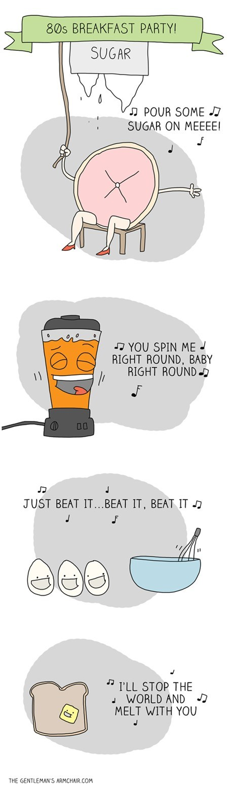 Songs Music puns funny web comics 1980s - 7852509184