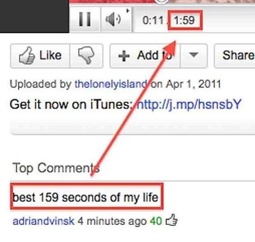 minutes telling time youtube comments seconds