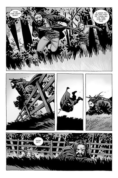 show off off the page The Walking Dead - 7852568064