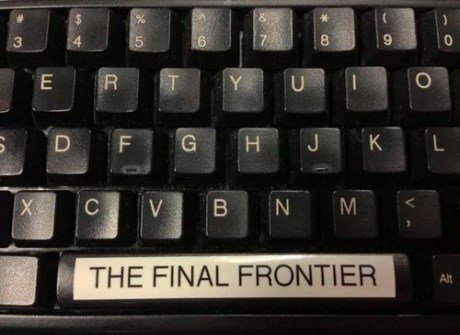 puns,Star Trek,space bar