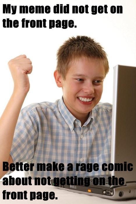 internet noob kid Rage Comics - 7852643840